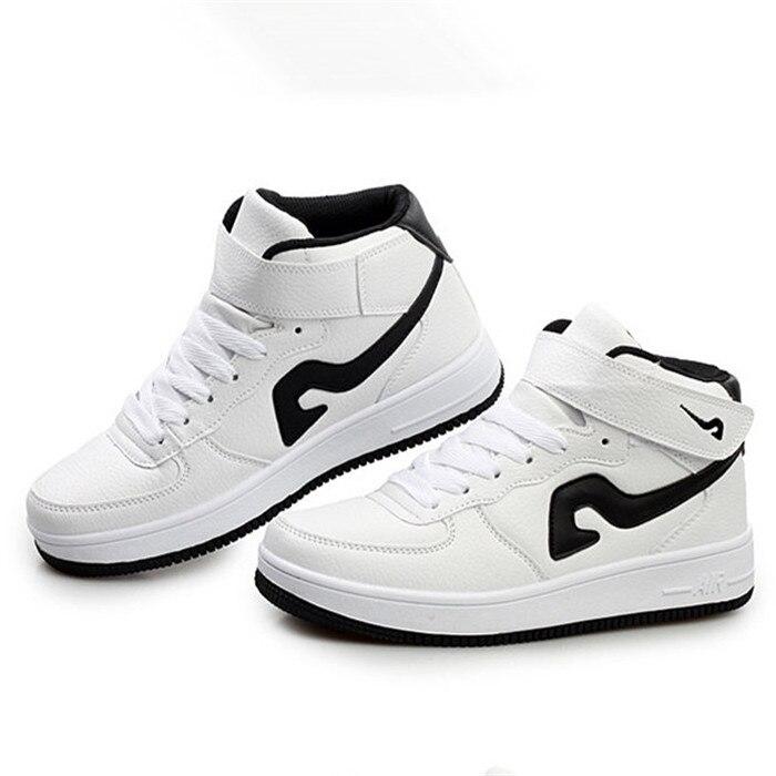 Zapatillas de corte mediano 2015 marca moda parejas zapatillas de ...