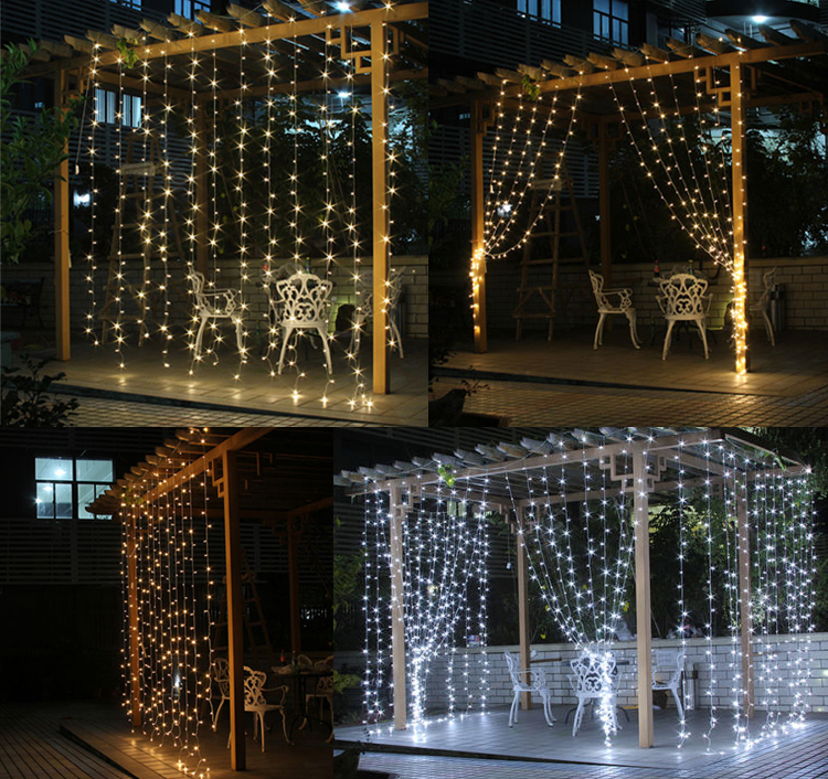 Free ship leds led school outdoor party christmas tree xmas wedding free ship leds led school outdoor party christmas tree xmas wedding curtain lights lighting decorations beautify night bright in led strips from lights aloadofball Image collections