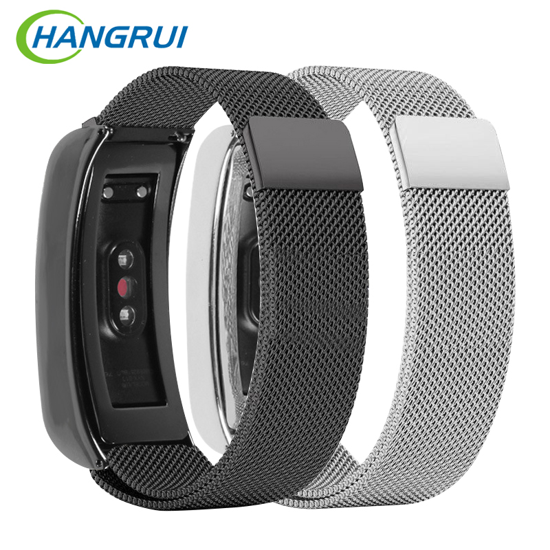 For huawei honor 3 wrist band strap sport bands milanese stainless steel band quick release smart bracelet for smart watch JA08