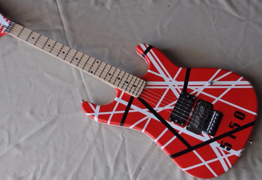 FireHawk 2018 nouveauté chine personnalisé Eddie Van Halen 5150 guitare électrique EVH guitare