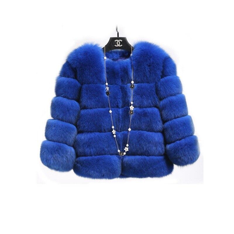 1f50e28b3d6 Dropwow Mink Coats Women 2018 Winter New Fashion Pink FAUX Fur Coat ...