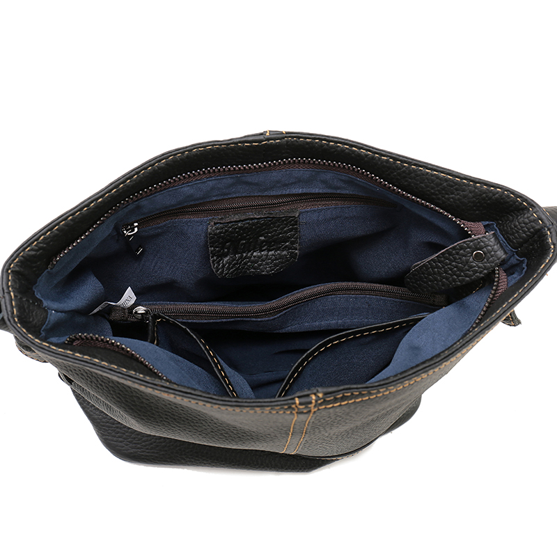 nuleez mulheres bolsa bolsa balde Material : 100% First Layer Cow Leather