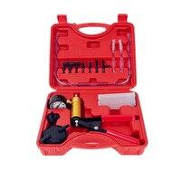 YOFE Car Auto Hand Held Vacuum Pistol Pump Brake Bleeder Adaptor Fluid Reservoir Tester Kit 2