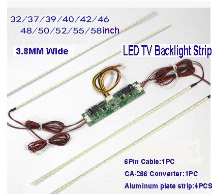 1Set 58inch 645MM*3.8MM 7020 LED Strips Backlight,Update LCD Screen to LED For TV1Set 58inch 645MM*3.8MM 7020 LED Strips Backlight,Update LCD Screen to LED For TV