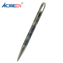 ODM Craving Branded Ballpoint Pen Unisex Brass Slim Twist Ball Pens with Custom Design Personalized School Cute Emboss Ball Pen недорого