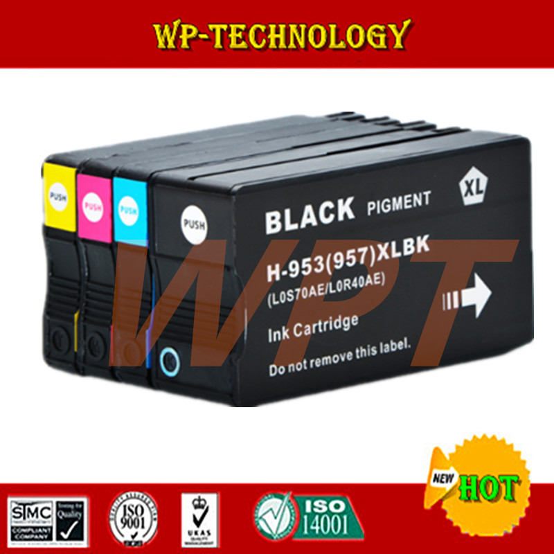 4PK For HP 953XL HP953 Full Ink Cartridge For HP OfficeJet Pro 8210 8218 8719 8720 8728 8730 8740 8710 P55250dw Printer мужские часы слава 1049549 2035