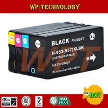4PK Pour HP 953XL HP953 Complet Cartouche D'encre Pour HP OfficeJet Pro 8210 8218 8719 8720 8728 8730 8740 8710 P55250dw Imprimante