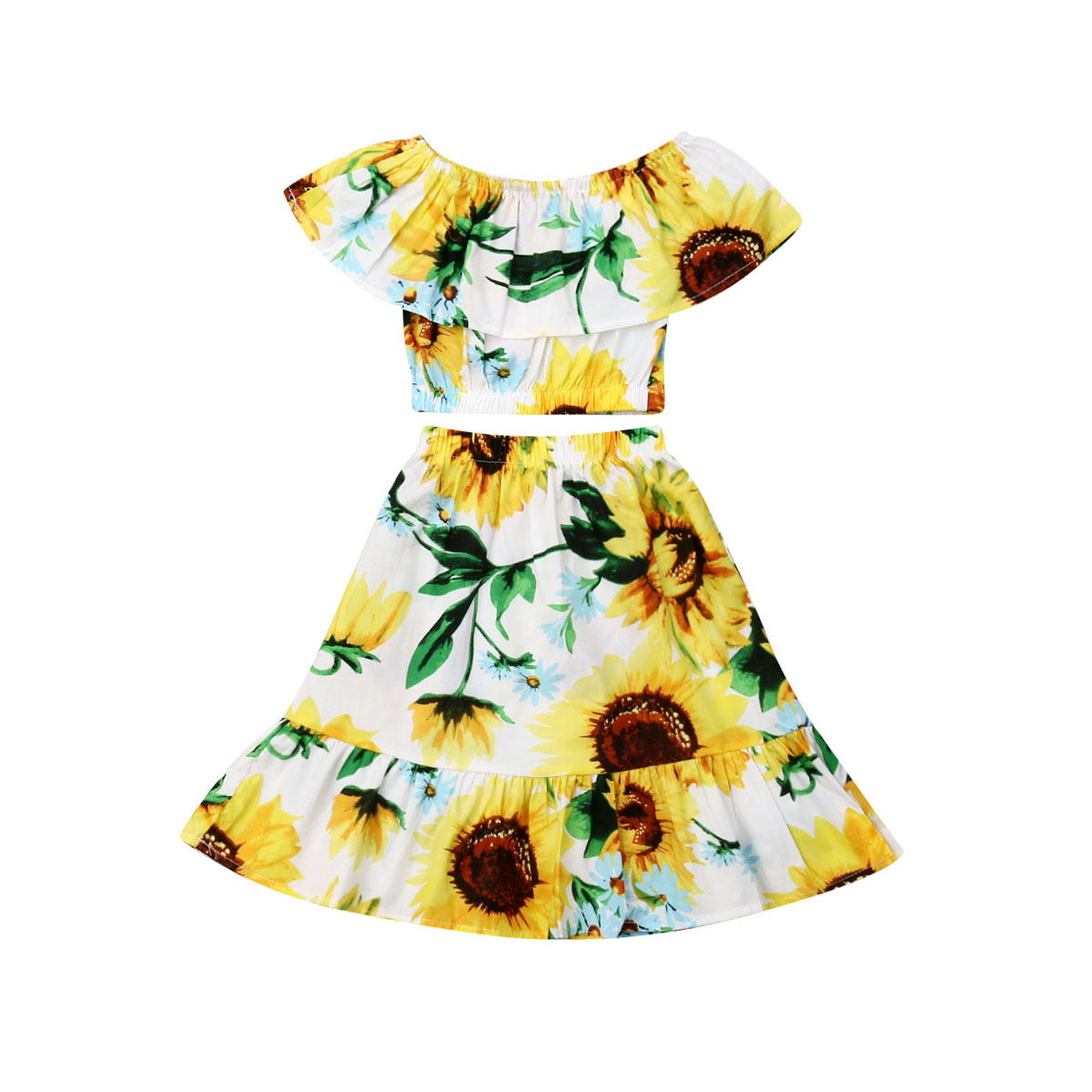 91db389b7aa5b Worldwide delivery kids crop top with a skirt in NaBaRa Online