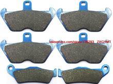 Motorcycle Semi-Metallic Disc Brake Pads fit BMW R1100 R1100S R 1100 S 1999 – 2000