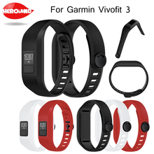1PC Silicone Fashion Design Replacement Wrist Watch Band Strap Band bracelt For Garmin Vivofit 3 Wristband For Garmin Vivofit3