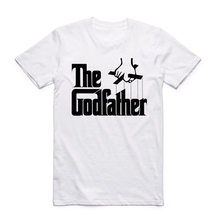 2017 Men Print Famous Movie The Godfather Classic T Shirt O-Neck Short Sleeve Summer Casual T-shirt Camisetas Hombre HCP922