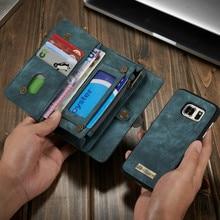 2017 Nouveau limitée dans Le Temps Portefeuille Pour Iphone 7 Pour Samsung S8 Plus Flip Pour 6 Couverture Pour Samusng Galaxy S7 Pour Bord Téléphone cas