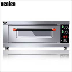 XEOLEO Electric Oven Baking oven Pizza oven machine Stainless Steel Commercial Bread baking machine timer Bakery equipment 3200W
