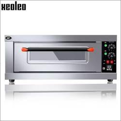 XEOLEO piekarnik elektryczny piekarnik piec do pizzy maszyna ze stali nierdzewnej handlowa maszyna do pieczenia chleba zegar piekarnia sprzęt 3200W