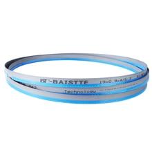 """Lame de scie à ruban (longueur personnalisée) 1500 5000mm x 19mm x 0.9mm ou 0.75 """"x0.035"""" lame de scie à ruban bi métal pour la coupe du métal"""