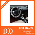 Universal 38cm Leopard Auto Car Steering Wheel Covers+Handbrake cover + car Automatic Covers for lady women