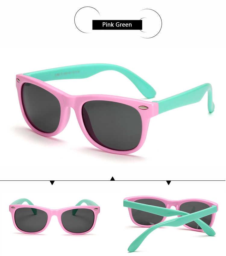 d29d5eea60 ... Kids Boys TR90 Unbreakable Polarized Sunglasses Children Girls Safety  Polaroid UV400 Mirror Sun Glasses Sport oculos ...