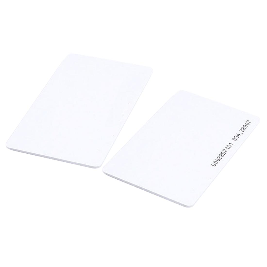 5 Packs 50 pieces Intelligent Proximity EM4100 125kHz RFID Proximity Card Entry Empty ID Access