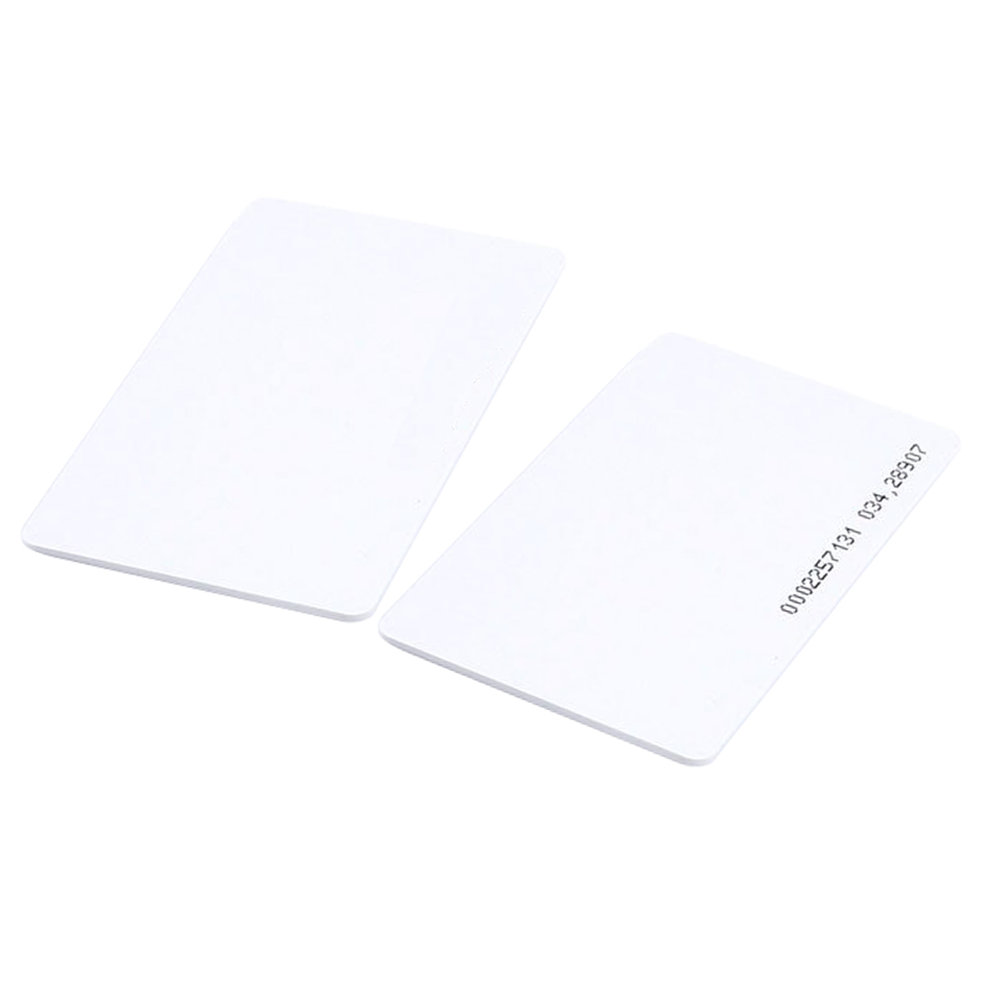 5 Packs 50 pieces Intelligent Proximity EM4100 125kHz RFID Proximity Card Entry Empty ID Access