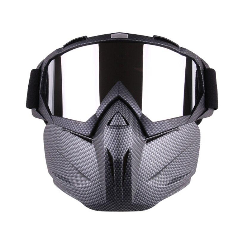 USA Versand Radfahren Brille Gesicht Maske Männer Frauen Ski Schneemobil Brille Maske Winter Skifahren Motocross Radfahren Schnee Sonnenbrille