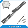 18mm 20mm 22mm Quick Release Watchband for Tudor Watch Band Stainless Steel Strap Bracelet Black Silver + Spring Bar + Tool