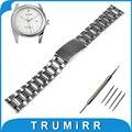 18mm 20mm 22mm faixa de relógio pulseira de liberação rápida para tudor Pulseira Pulseira de Aço inoxidável Preto Prata + Barra de Mola + ferramenta