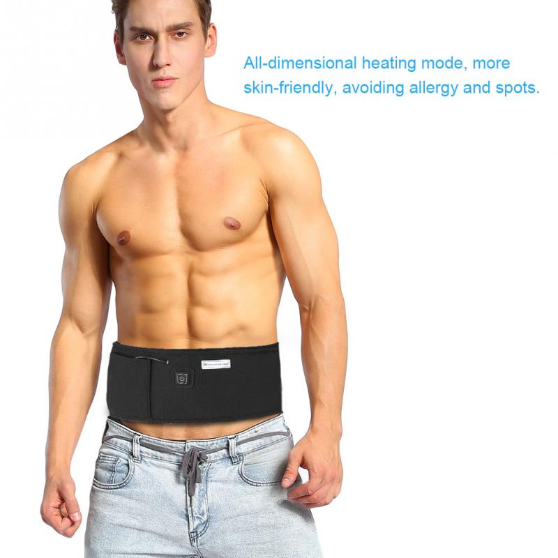 2 Colors Infrared Fat Burning Heating Belt Slimming Weight Losing Vibration Health Care Tools цены онлайн