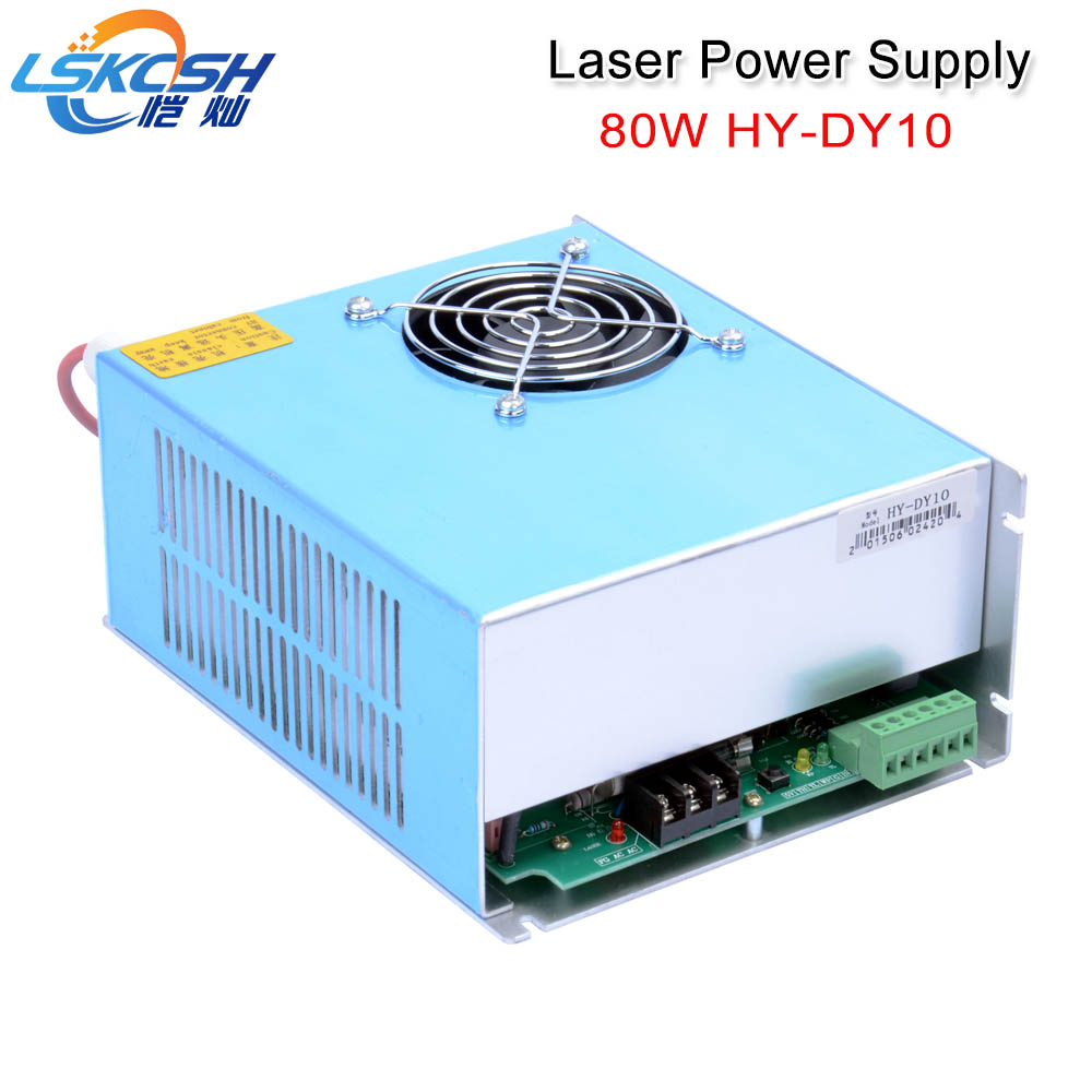 цена на LSKCSH DY10 Co2 Laser Power Supply For Reci W1/Z1/S1/W2/S2/Z2 Co2 Laser tube Engraving Cutting Machine DY Series 80W 90W
