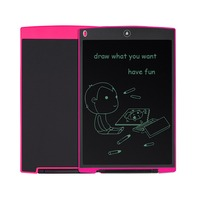 NEWYES Ultra Thin 8 5 Pink Digital LCD Writing Pad EWriter Tablet Electronic Drawing Graphics Board