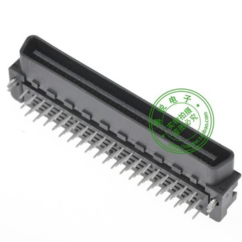 AMP TYCO TE connector type 5175472-9 SCSI 80P 90 -degree male seat connector Groove