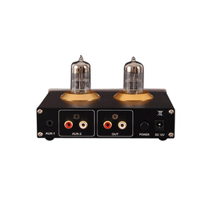 Image 2 - Луся 6N3 ламповый усилитель для наушников MAX9722 DAC аудио декодер 1300 МВт мощность для 16 600ohm наушников T0654
