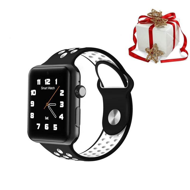 3 couleurs LF07 plus bluetooth smartwatch montre intelligente hommes 1.54 pouces 2G montre android montre pour 2019 cadeau de noël pour apple huawei