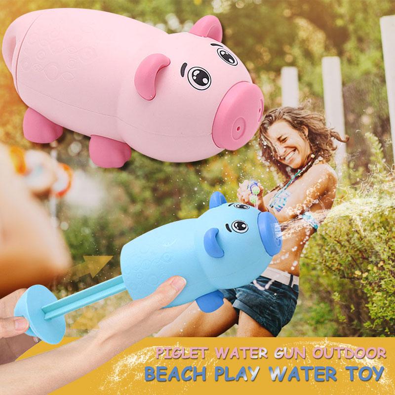 Практичная водяная пушка игрушка пластиковая пляжная пушка Модель пушки Прямая