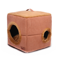 Warm Cotton Cat Cave House Pet Bed Dog House Lovely Soft Cat Bed House For Small Dog Cats Pet Products