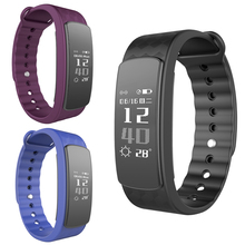 Nueva IP67 Impermeable Bluetooth 0.96 pulgadas OLED Relojes Inteligentes I3Hr con Heart Rate Monitor Podómetro Inteligente Pulsera Wrist Band