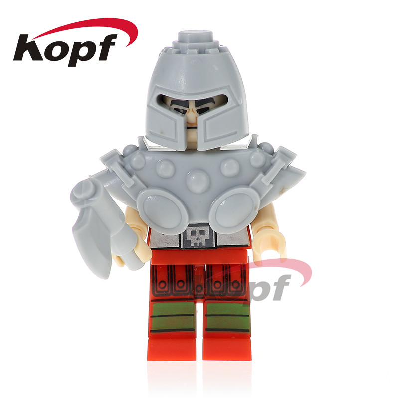 Single Sale Super Heroes HE-Man MASTERS Ram Man Heman Ske Letor TRI-KLOPS Bricks Model Building Blocks Children Gift Toys PG1099 building blocks super heroes back to the future doc brown and marty mcfly with skateboard wolverine toys for children gift kf197