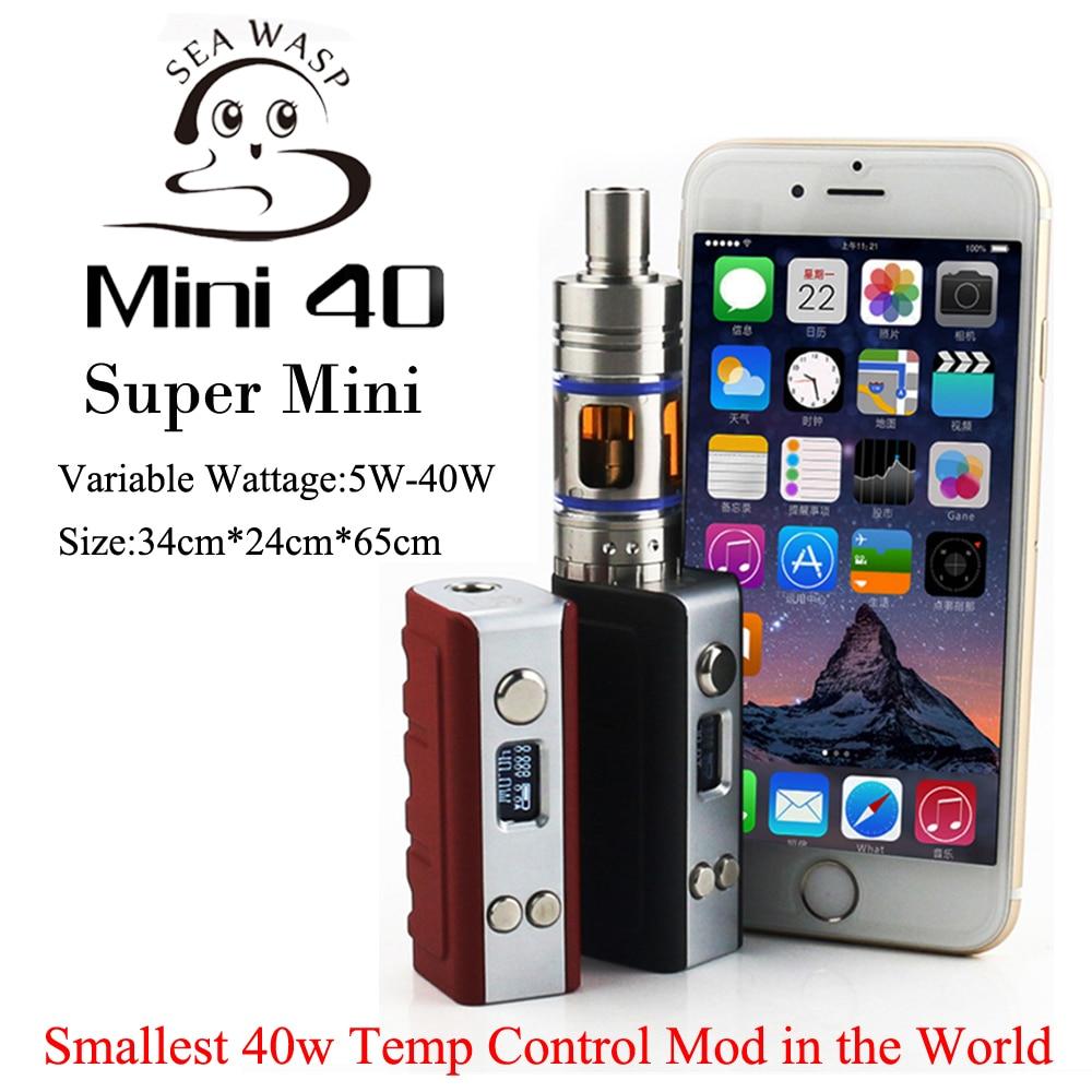 Super Mini 40W Vapor Mod font b Electronic b font font b Cigarette b font Starter