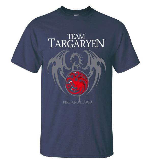 """Team Targaryen"" Cotton Male T-Shirts  2"