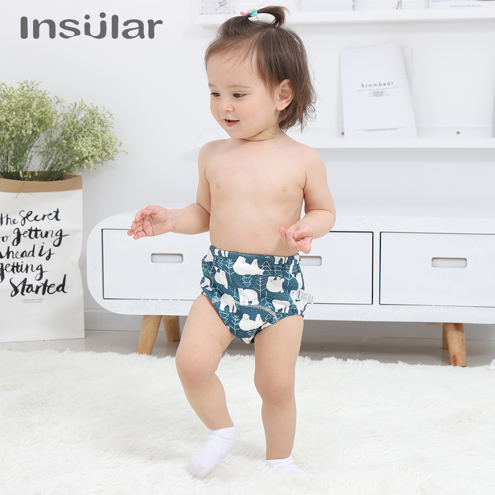 10 Color Cotton Reusable Training Pants Toddler Potty Training Underwear For Boys And Girls Breathable Adorable And Comfortable