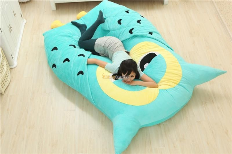 Fancytrader 200cm X 150cm Huge Giant Cute Hoot Owl Tatami Bed Carpet Sofa, Gift For Girls, Free Shipping FT90291 (2)