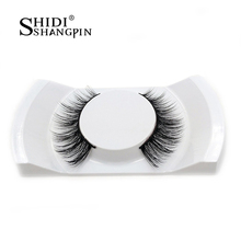 100% 3D Mink False Eyelashes 1 Pair Makeup Handmade Curved Siberia Mink Women Fake Eye Lashes Luxury Long Faux Lashes Extension