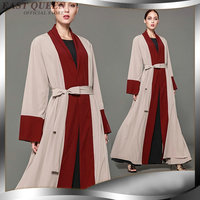 Islamic clothing muslim dress casual; loose femme clothes Fashion 2018 Women Abaya Middle East Long Robe Gowns AA3602 Y a