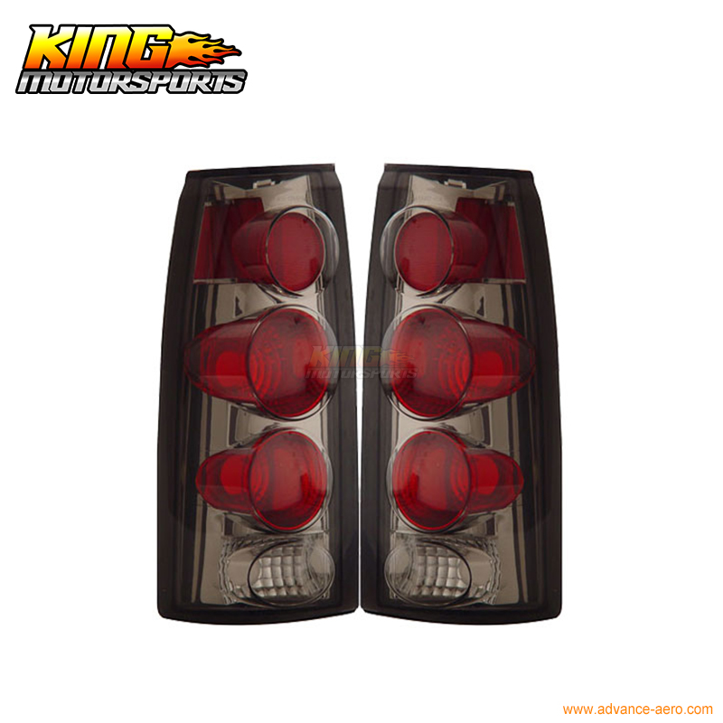 for 2005 2007 06 chrysler 300 300c led tail lights black lamps usa domestic free shipping For 1988-1998 Chevy Full Size Tail Lights 3D Smoke Lamps USA Domestic Free Shipping