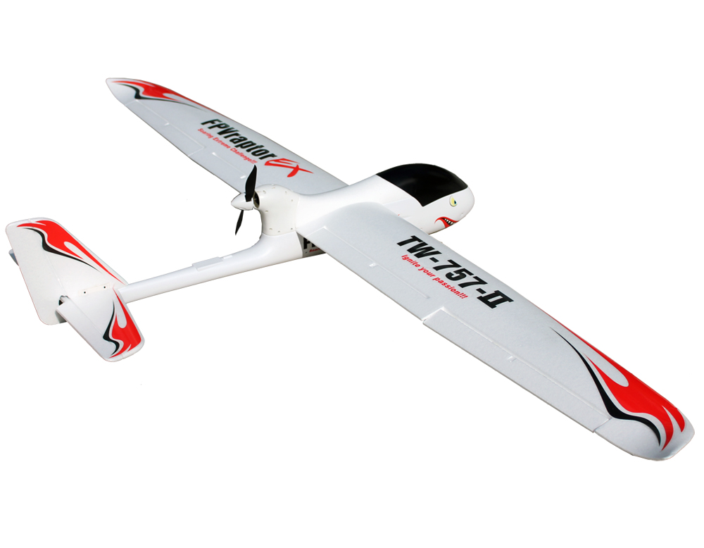 Volantex FPV Raptor 2M RC PNP/ARF Glider Plane W/ Motor Servo ESC W/O Battery arf combo package including motor esc servo propeller remote control electric powered new hugin 2 2m v tail glider rc airplane v