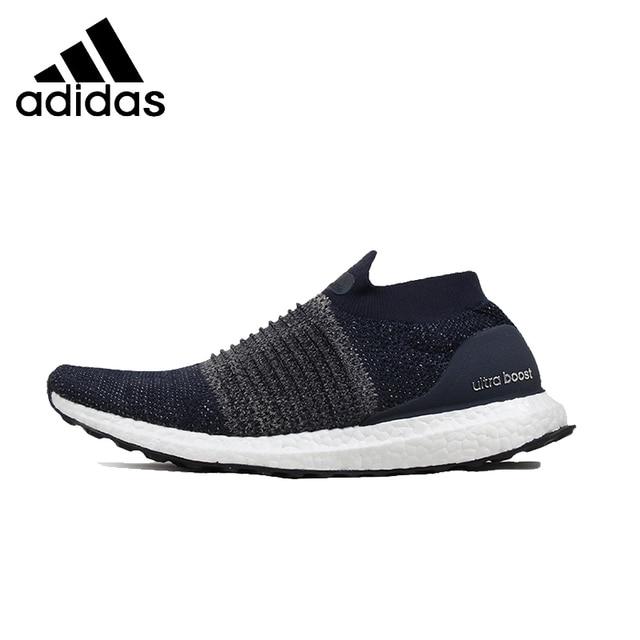 ADIDAS Ultra BOOST SANS LACETS Hommes Chaussures de Course Mesh Respirant  La Stabilité Soutien Sport Sneakers e8bdb19db393