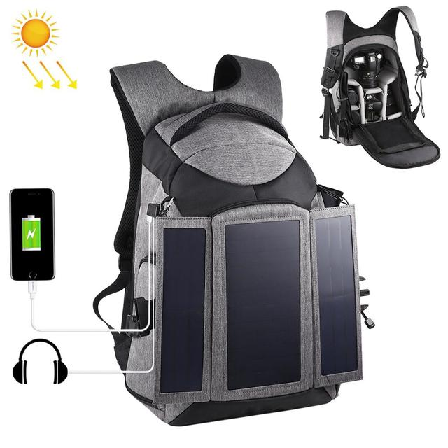 Professional Photographic Solar Backpack