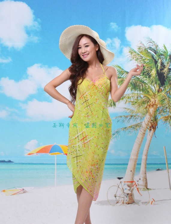 58cc9e5117 2015 new fashion fireworks ladies beach towel Beach Dress Beach Wear Beach  Cover Up Summer style scarf summer dress on Aliexpress.com | Alibaba Group