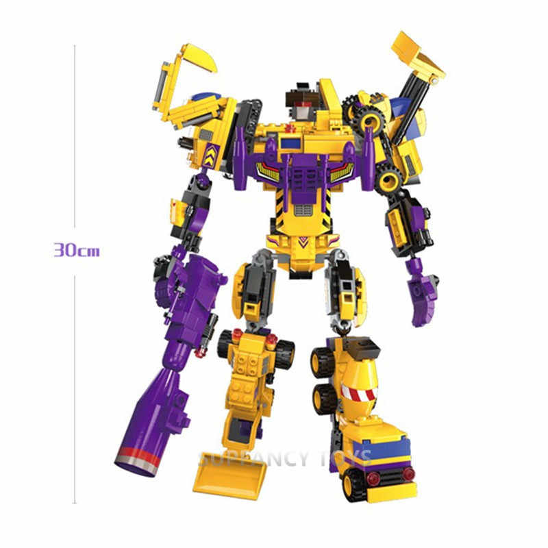599 sztuk transformator Robot Mars stwórcy cegły boga wojny walki z modelu LegoINGLs klocki zabawki dla dzieci boże narodzenie prezenty