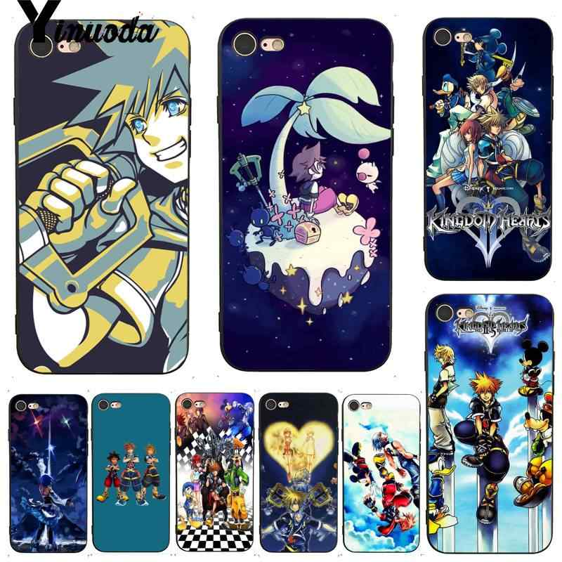 clear kingdom hearts coque iphone 6
