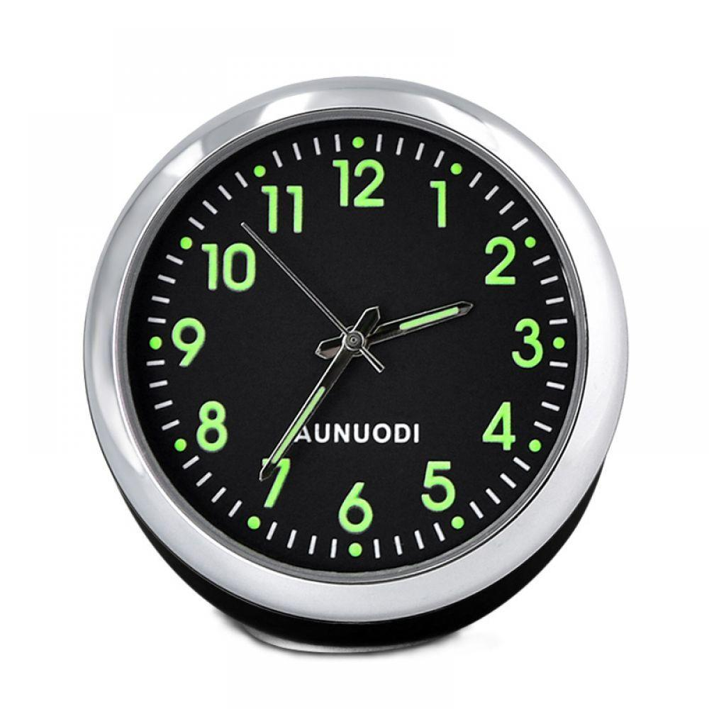 Mini Car Clock In Car Luminova Mechanics Quartz Clock Car Watch Digital Clock Automobile Clock Accesorios Automovil Car Styling